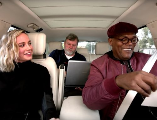 Gwen Stefani Approves of Brie Larson & Samuel L. Jackson's 'Just a Girl' Karaoke Session: Watch