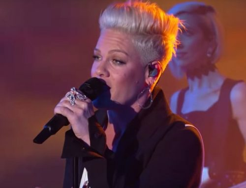 P!nk Gets Her 'Hustle' On For 'Jimmy Kimmel Live!' Performance: Watch