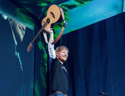 Ed Sheeran Bikes Around London With Paulo Londra & Dave in 'Nothing on You' Music Video