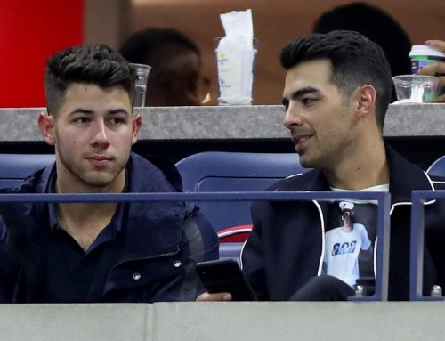 Joe Jonas Shows Love for Justin Bieber at the US Open