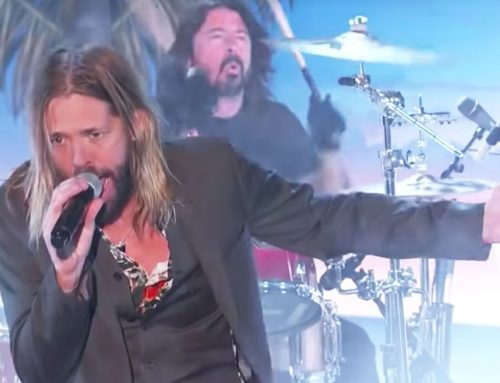 Watch Taylor Hawkins & The Coattail Riders Jam Out With Dave Grohl and Perry Farrell on 'Kimmel'