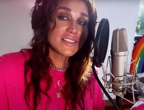 Kesha Performs Stripped Back Version of 'Little Bit of Love' on 'Ellen'