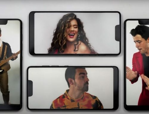 Jonas Brothers & Karol G Bust a Move Through a Phone Screen for 'X' Video