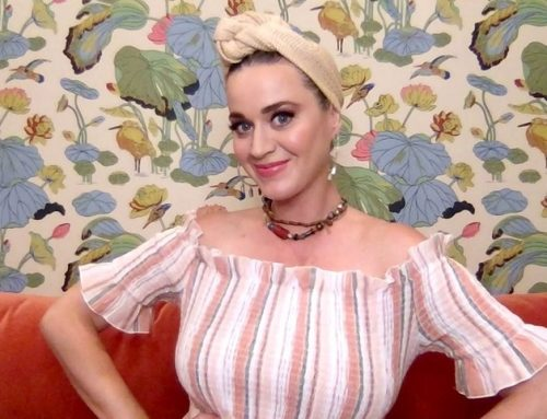 Katy Perry Wants to Cover Your Face in a 'Daisies' Mask