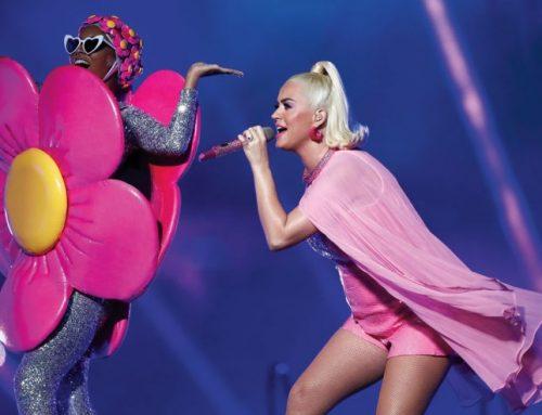 Balls! Katy Perry Reveals 'Smile' Tracklist in Most Adorable Way