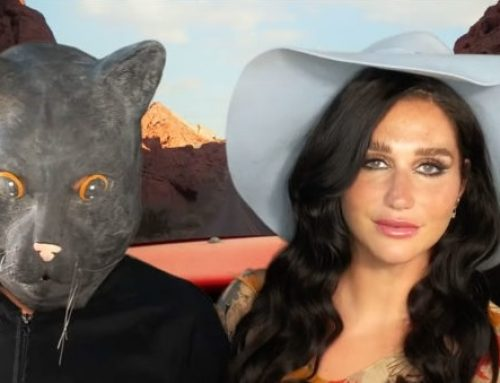 Watch Kesha Travel the World With a Cat-Person in Her Absurdist 'Little Bit of Love' Video