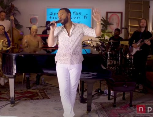 John Legend Spreads 'Bigger Love' From Home for Tiny Desk Concert