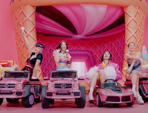 Selena Gomez & Blackpink Zoom in From Home For 'Ice Cream' Lyric Video