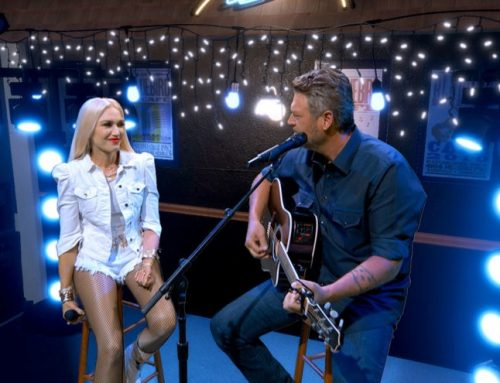 Gwen Stefani Switches Out Ex Gavin Rossdale For Blake Shelton in Vintage Photo