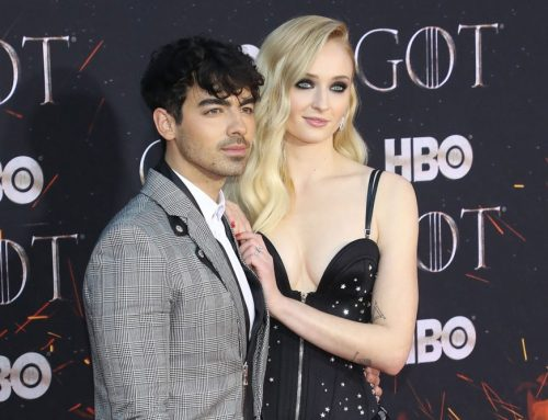 Is That Sophie Turner Keeping an Eye on Joe Jonas in His New Tattoo?