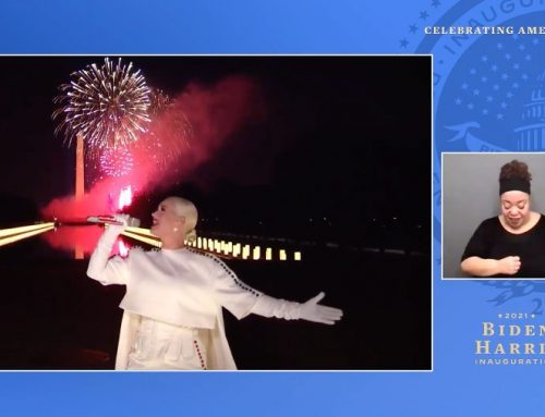 Katy Perry Lights Up D.C. With 'Firework' for 'Celebrating America' Inaugural Special