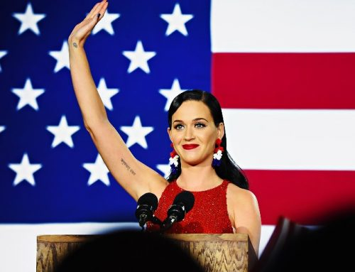 Katy Perry Announces Inaugural Primetime Performance With This Patriotic Picture