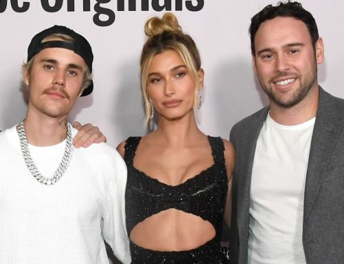 Justin Bieber Showered With Throwback Pics & Video From Hailey Bieber & Scooter Braun for His Birthday