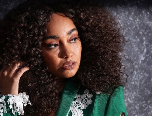Little Mix's Leigh-Anne Pinnock Models Her Own Swimsuit Line in Baby Bump Pic