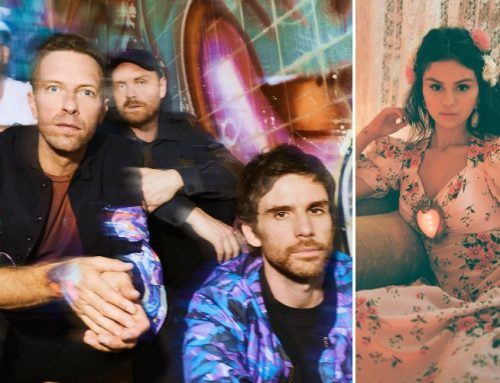 Selena Gomez Joins Coldplay For 'Late Late Show' Live Debut of Emotional 'Let Somebody Go'