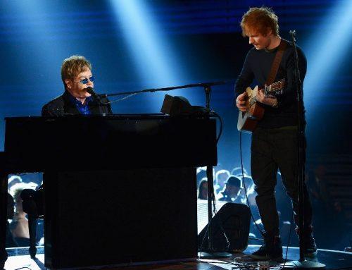Even Ed Sheeran Wants Elton John to Score the U.K. No. 1 Song Over Him